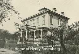 Portrait of Henry Rosenberg