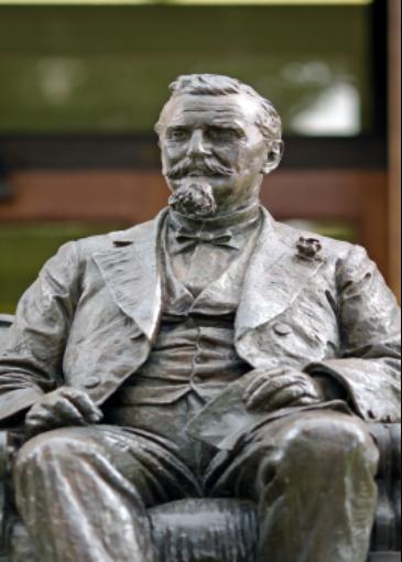 Henry Rosenberg statue