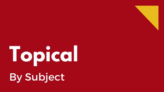 Topical - by subject