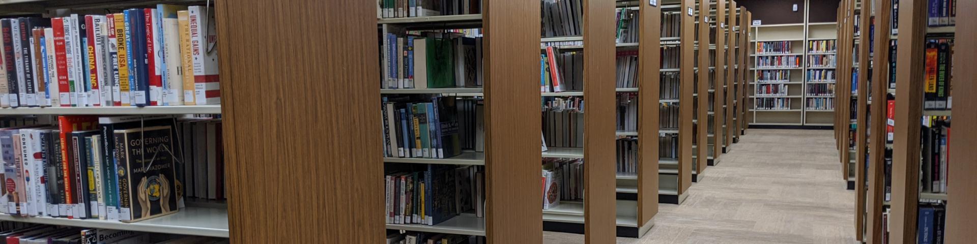 Rosenberg Library Book Stacks