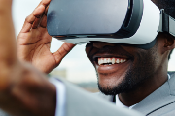website header - virtual reality