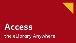 Access the elibrary anywhere