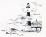 Bolivar Lighthouse coloring page