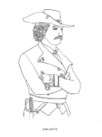 Jean LaFitte coloring page