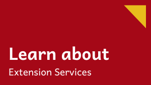 Learn about Extension Services