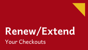 Renew/Extend Checkout