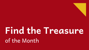 Find the treasure of the month!