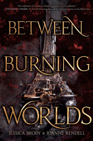 'Between Burning Worlds' cover