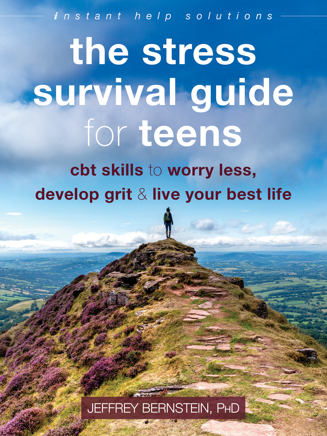 'The Stress Survival Guide for Teens' cover