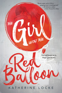 'The Girl with the Red Balloon' cover