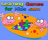 Learning Games for Kids website