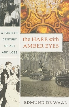 'The Hare with Amber Eyes' cover
