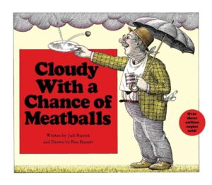 'Cloudy With a Chance of Meatballs' cover
