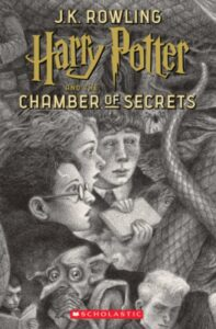 'Harry Potter and the Chamber of Secrets' cover
