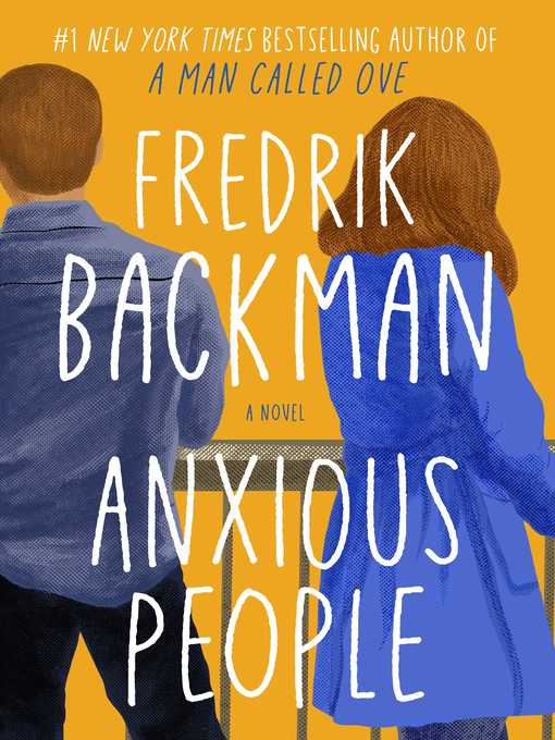 'Anxious People' cover