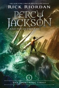 'Percy Jackson and The Olympians: The Lightning Thief' cover
